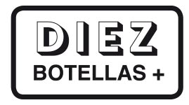 DIEZ Botellas+