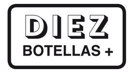 DIEZ Botellas+
